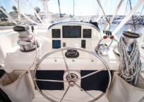 2011 Leopard 46 Catamaran DOUBLE DIAMOND helm station