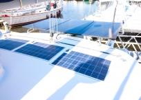 2011 Leopard 46 Catamaran DOUBLE DIAMOND solar panels