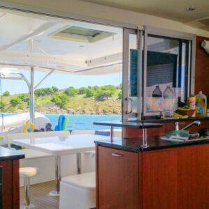 2013-Leopard-48-Catamaran-KOKOMON galley