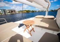 2019 Fountaine Pajot Saona 47 Catamaran FAIR WINDS top deck
