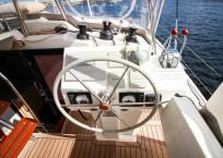 2019 Fountaine Pajot Saona 47 Catamaran FAIR WINDS helm