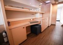 2019 Fountaine Pajot Saona 47 Catamaran FAIR WINDS main cabin