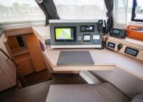 2019 Fountaine Pajot Saona 47 Catamaran FAIR WINDS nav station