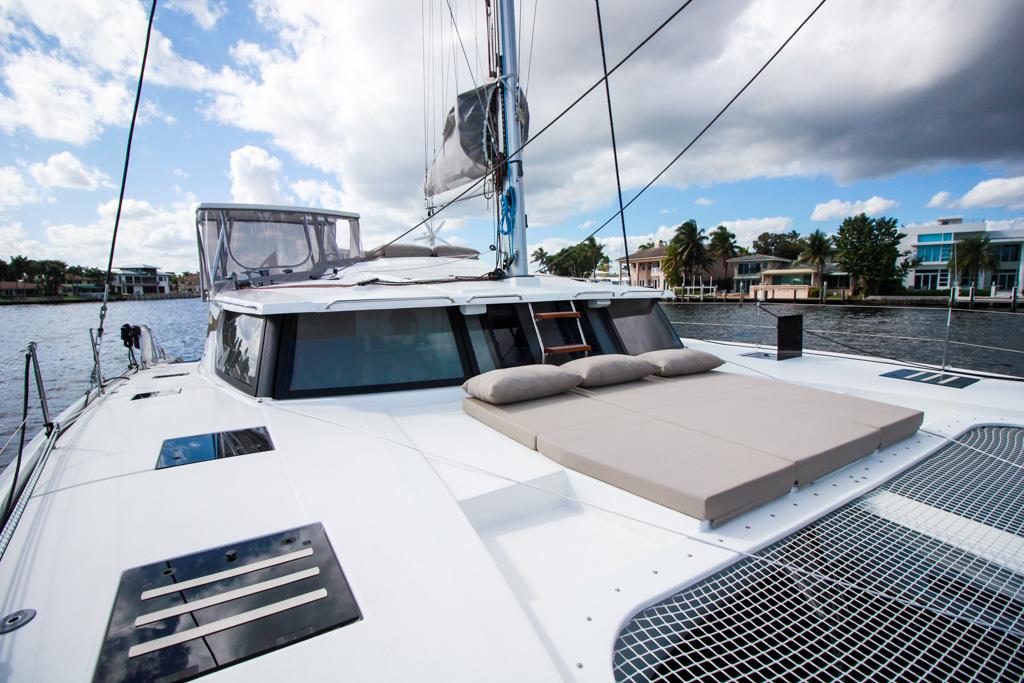 2019 Fountaine Pajot Saona 47 Catamaran FAIR WINDS bow