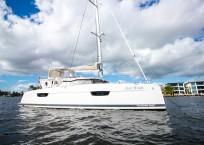 2019 Fountaine Pajot Saona 47 Catamaran FAIR WINDS profile