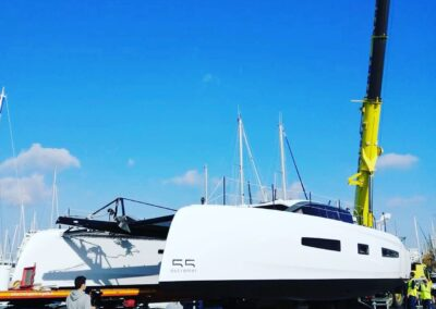 Outremer 55 Catamaran Launch
