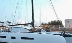 Outremer 55 Catamaran launch profile