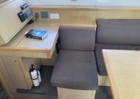 2014 lagoon 39 catamaran CARPE DIEM nav station seating