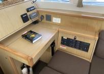 2014 lagoon 39 catamaran CARPE DIEM nav station