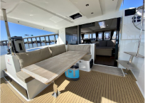 2017 Fountaine Pajot Lucia 40 Catamaran for sale DAY DREAMING aft deck