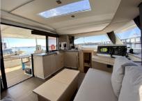 2017 Fountaine Pajot Lucia 40 Catamaran for sale DAY DREAMING salon