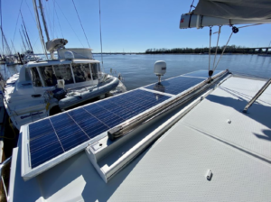 2017 Fountaine Pajot Lucia 40 Catamaran for sale DAY DREAMING solar panels