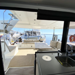 2017 Fountaine Pajot Lucia 40 Catamaran for sale DAY DREAMING salon