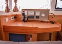 Lagoon 450F Catamaran for sale nav station