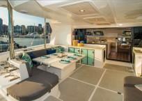 2020 Royal Cape 57 Fly Catamaran aft