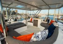 2020 Royal Cape 57 Fly Catamaran flybridge