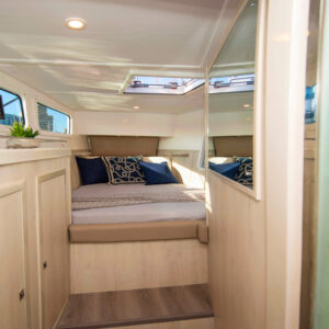 2020 Royal Cape 57 Fly Catamaran-forward port cabin