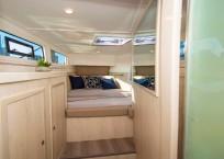 2020 Royal Cape 57 Fly Catamaran-forward port cabin