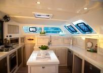 2020 Royal Cape 57 Fly Catamaran-galley