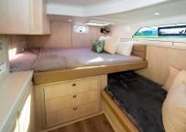 2020 Royal Cape 57 Fly Catamaran-port aft cabin
