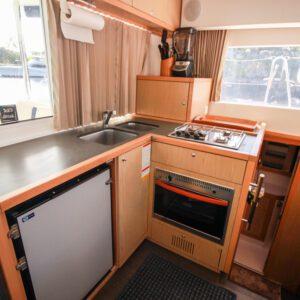 2014 Lagoon 39 Catamaran MARDI GRAS galley