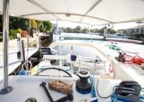 2014 Lagoon 39 Catamaran MARDI GRAS helm