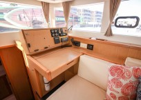2014 Lagoon 39 Catamaran MARDI GRAS nav station