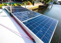 2014 Lagoon 39 Catamaran MARDI GRAS solar panel