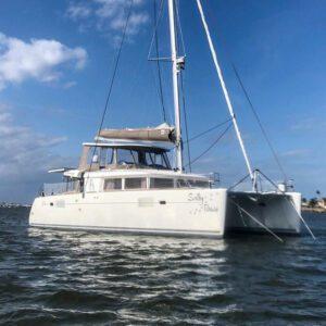 Lagoon 450 Catamaran SALTY PAWS