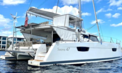 2019 Fountaine Pajot Saona 47 Catamaran sold by Jim Ross