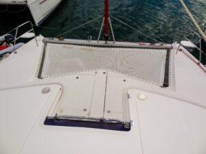 2015 Leopard 44 Catamaran LET IT GO bow