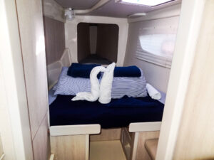 2015 Leopard 44 Catamaran LET IT GO - cabin