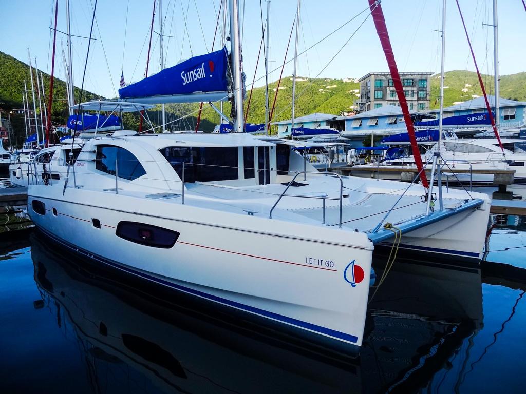 2015 Leopard 44 Catamaran LET IT GO - profile