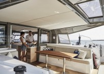 Nautitech 40 Open Catamaran - aft deck