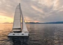 Nautitech 40 Open Catamaran - under sail