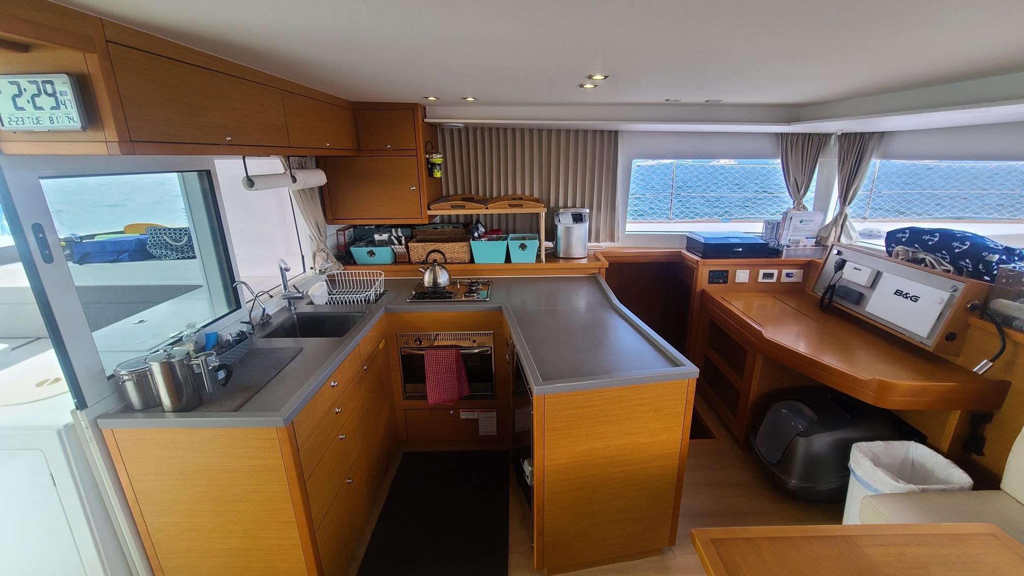 Lagoon 450 Catamaran sold by Just Catamarans