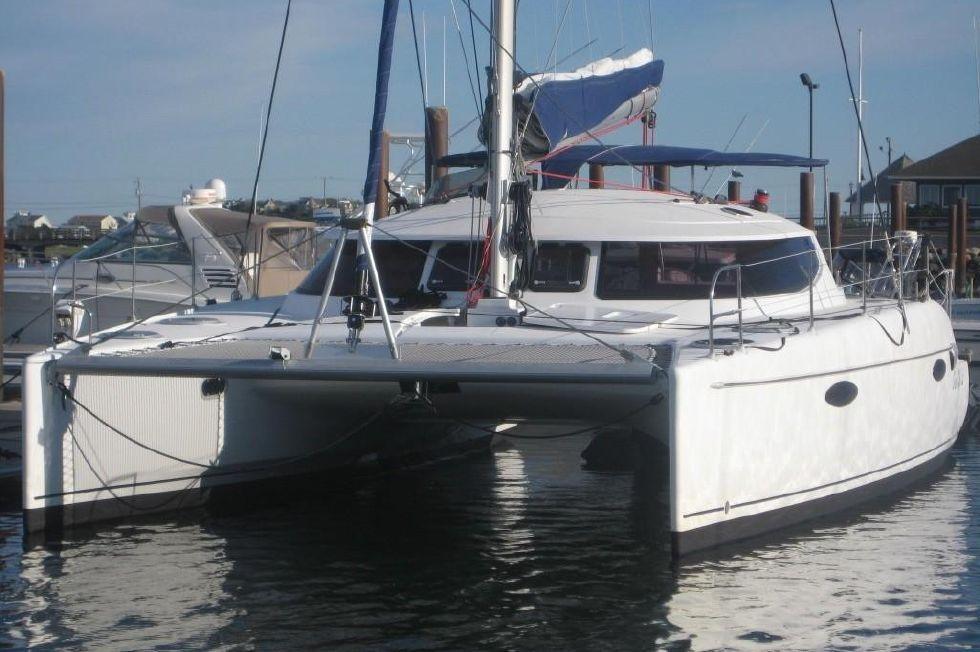 2008 Fountaine Pajot Lavezzi 40 Catamaran - ONE KOOL CAT Profile