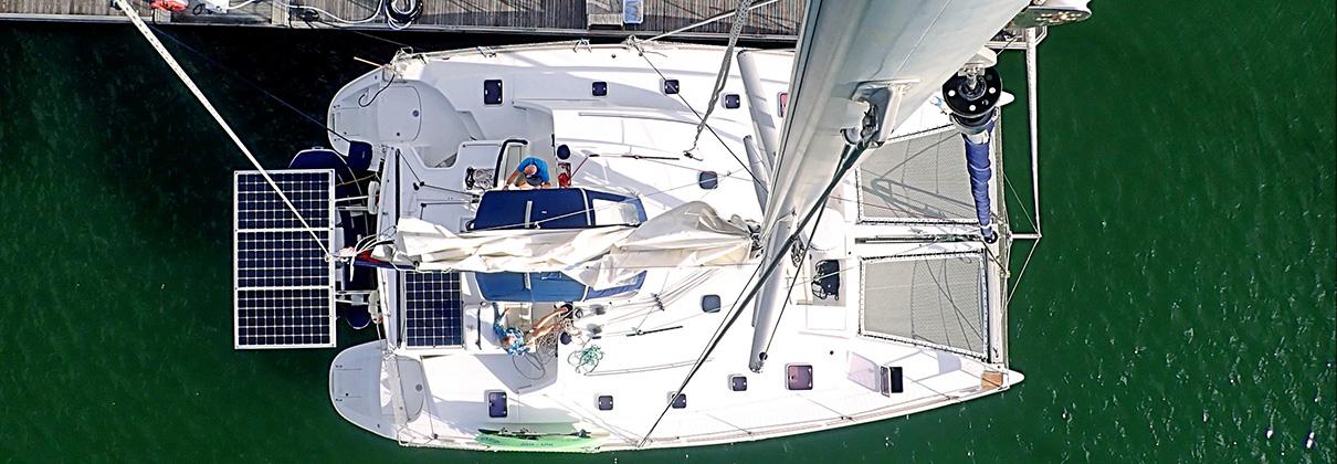 2008 Lagoon 440 Catamaran SHANTI sold
