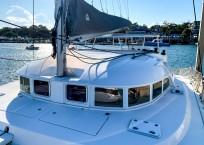 2018 Lagoon 380 Catamaran BLUE MIND to aft