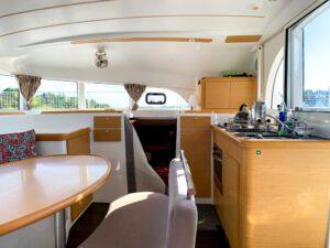 2018 Lagoon 380 Catamaran BLUE MIND galley