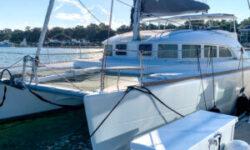 2018 Lagoon 380 Catamaran BLUE MIND profile