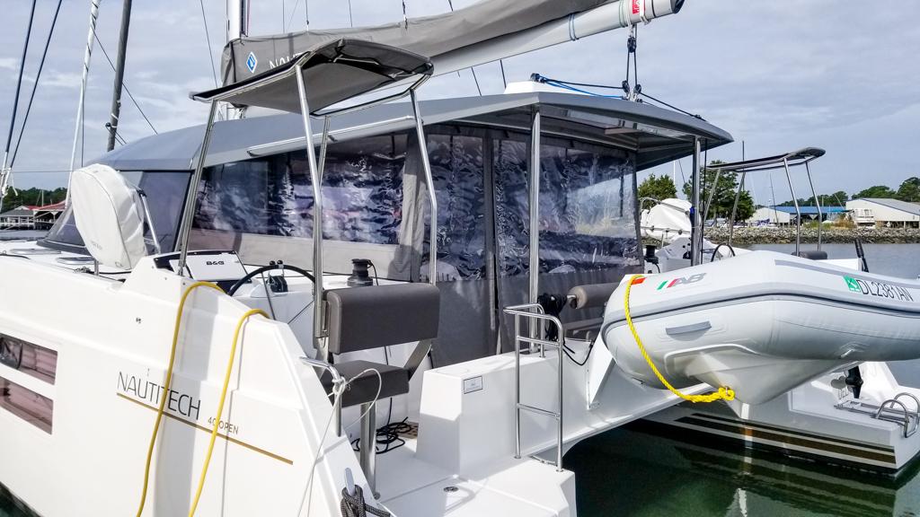 2020 Nautitech 40 Open Catamaran VISTA CRUISER sold by Just Catamarans