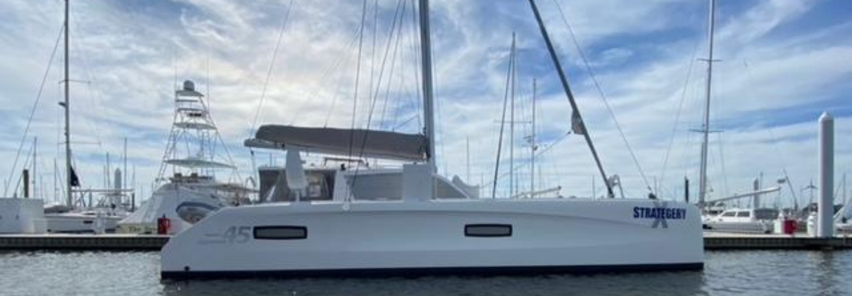 Strategery X 2014 Outremer 45 Catamaran for sale