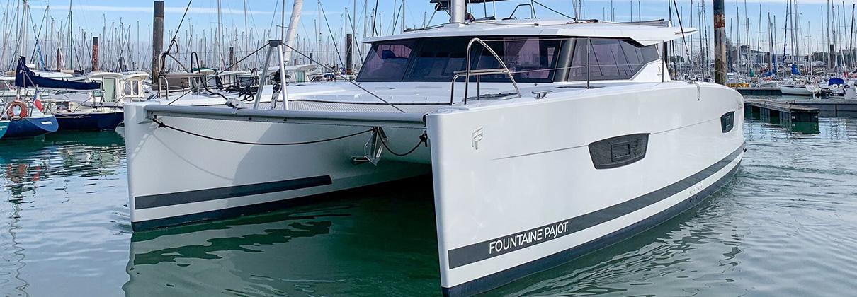 Fountaine Pajot Lucia 40 Catamaran