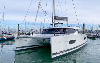 2018 Fountaine Pajot Lucia 40 Catamaran Owners Version Sold