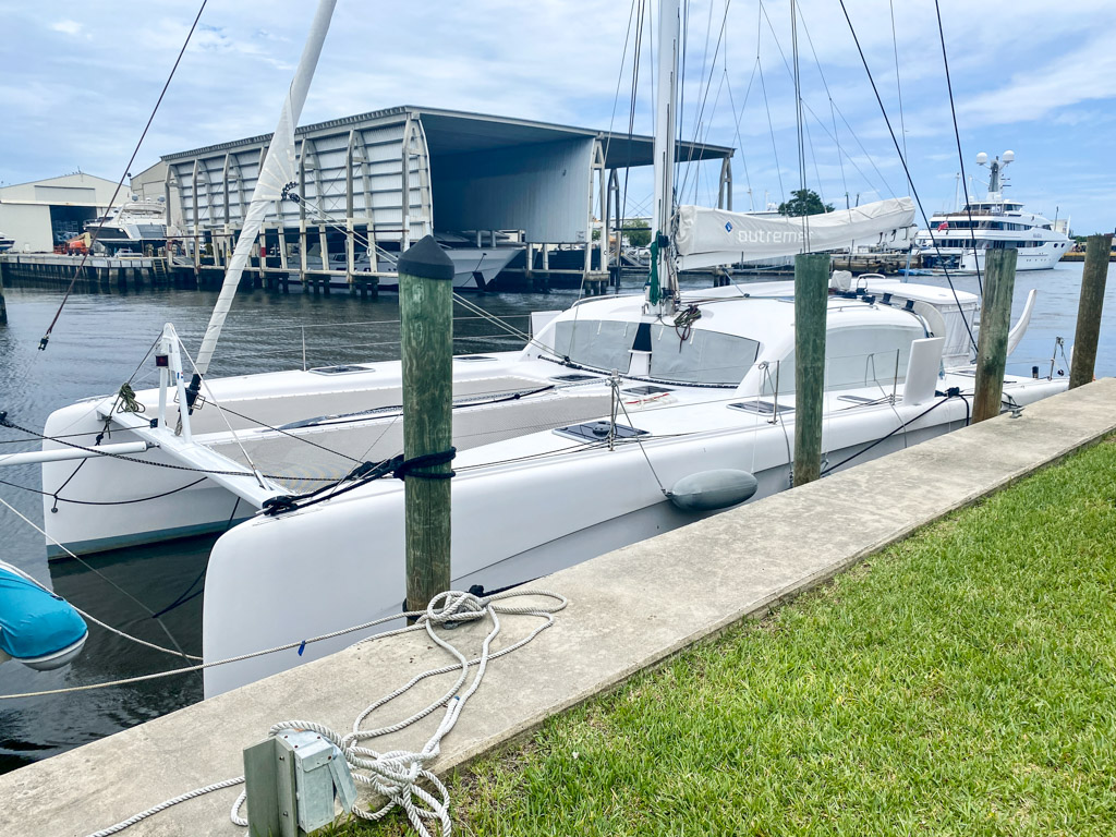 2019 Outremer 45 Catamaran SONA sold by Robert Taylor